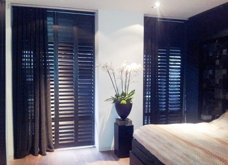 shutters combineren met gordijnen | Style Shutters