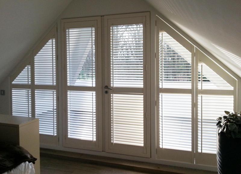schuine shutters style shutters